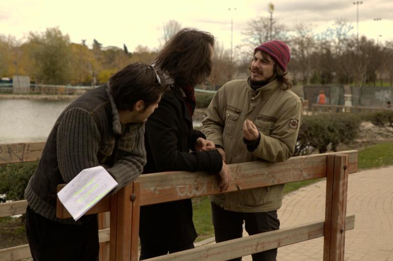 Grabando piloto Just like you (2011)